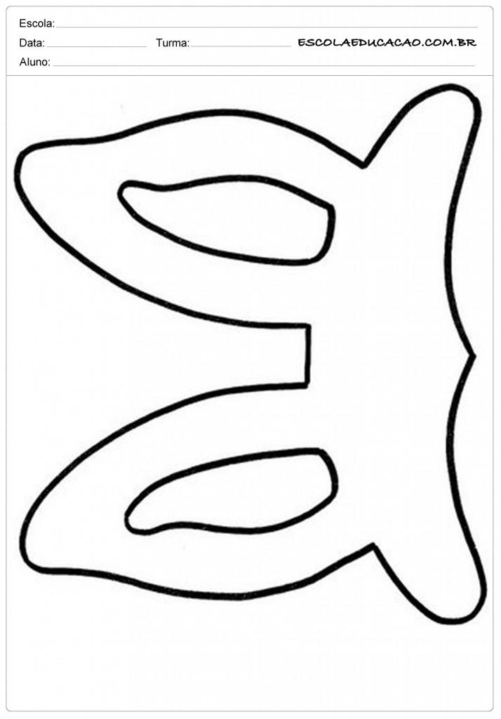 Orelhas de Coelhos Molde