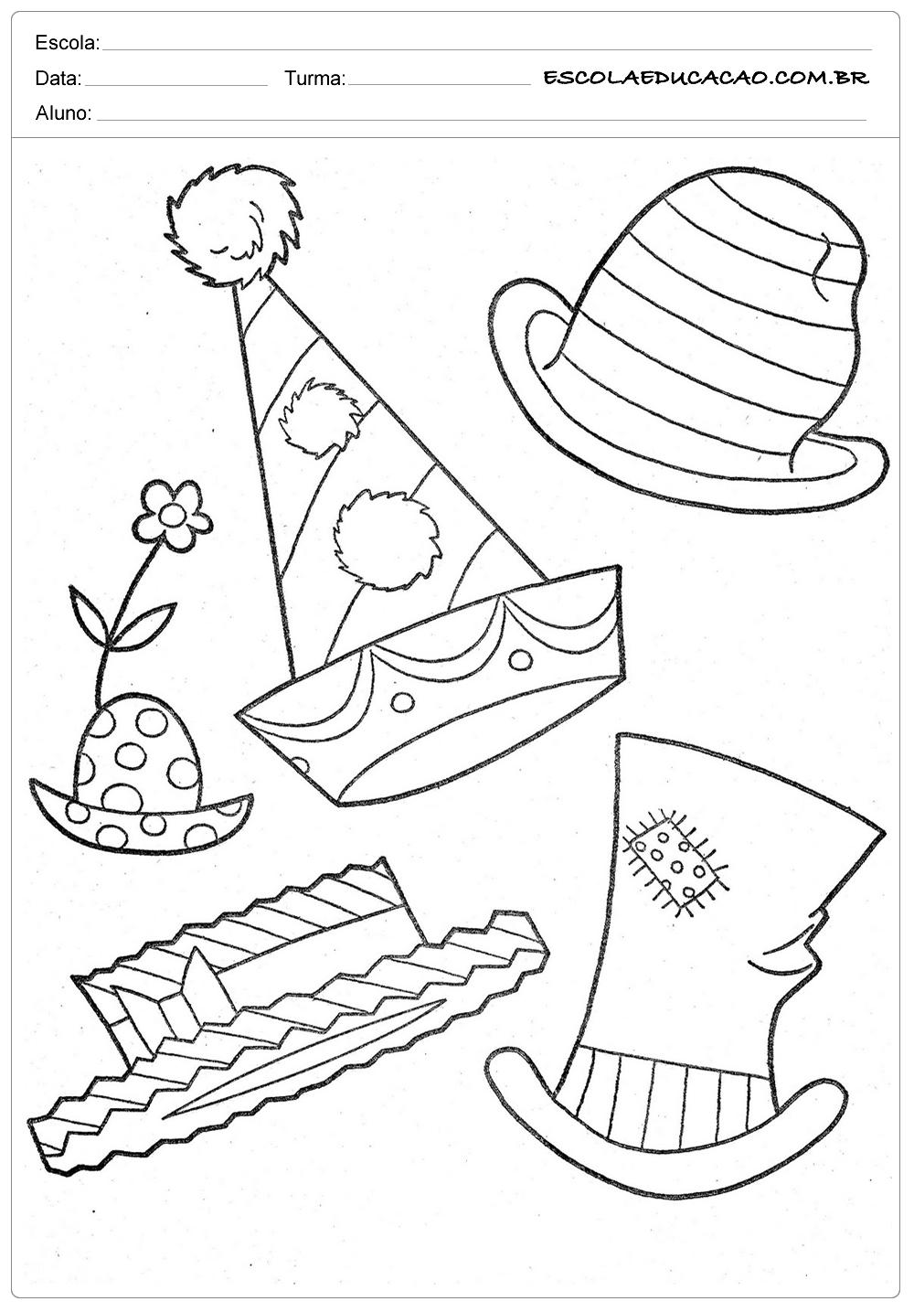 Chapéus Divertidos