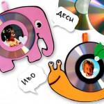 Porta retrato com CD decorado