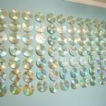 Reciclagem de CD - Cortina