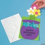 Cartão Flor EVA dia das Mães
