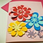 Flores dia das mães com EVA