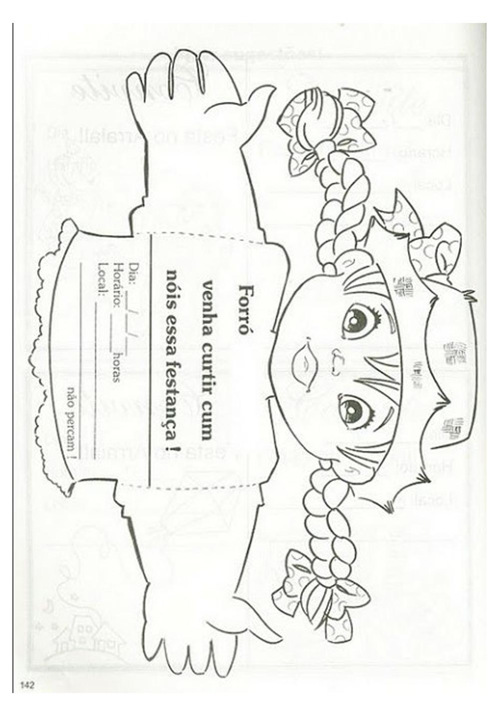 modelo de convite para festa junina - forr u00f3