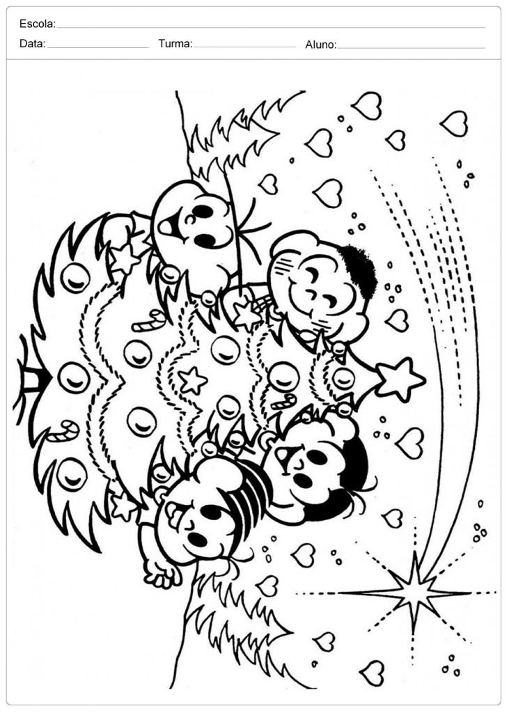 Confira Diversas Arvores De Natal Para Colorir E Imprimir
