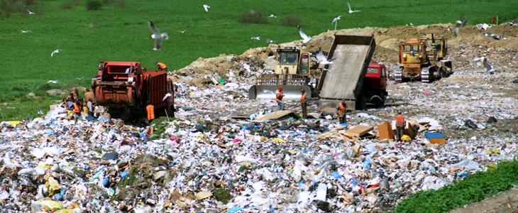 Poluição dos Solos - Imagem