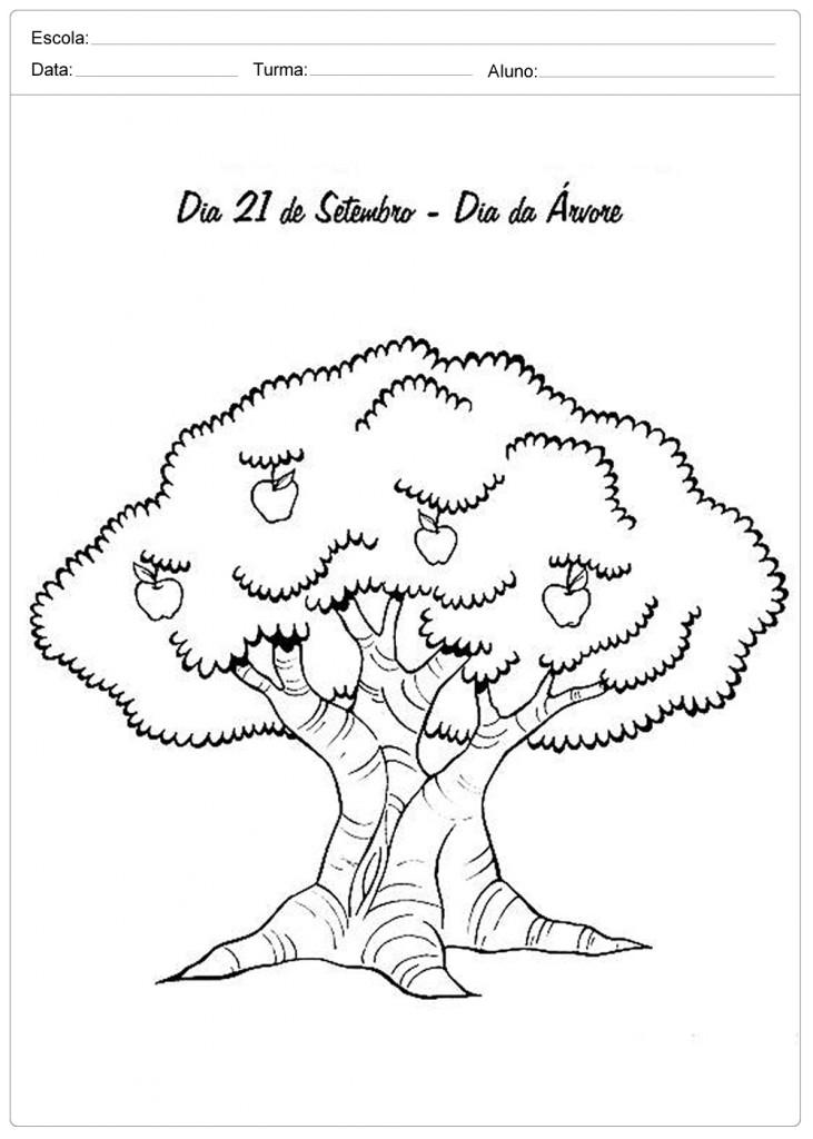Atividades Sobre os Seres Vivos - Dia da Árvore