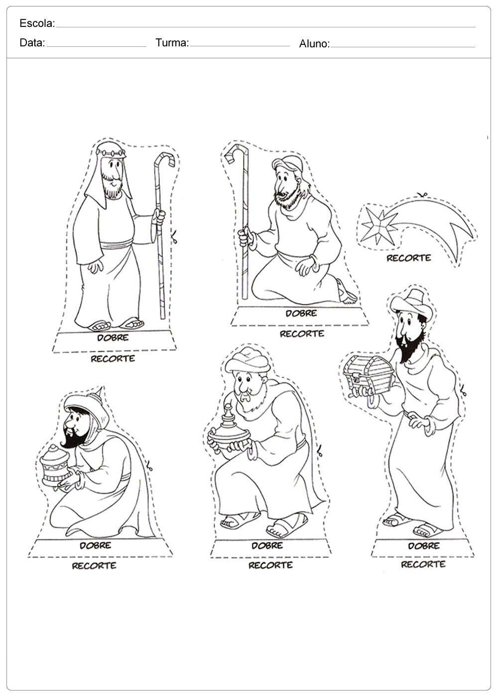 Moldes para Presépio – Presépio parte 1