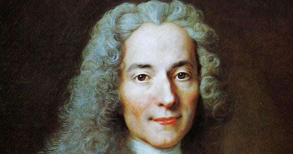 Pensador Iluminista Voltaire
