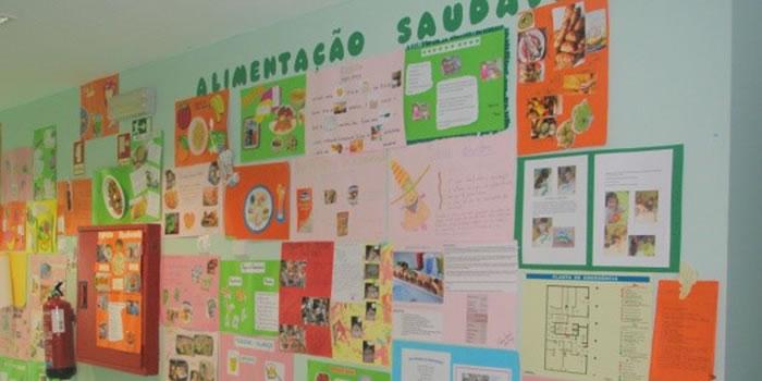 Mural de Alimentos Saudáveis