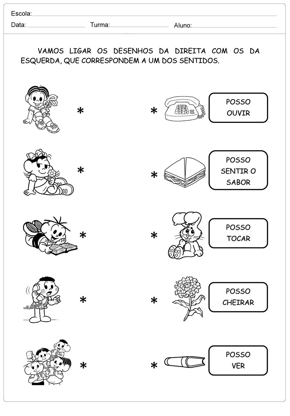Muito Turma da Mônica - Escola Educação YP84