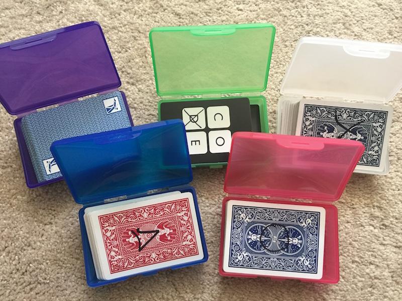 Aprendendo matemática com cartas