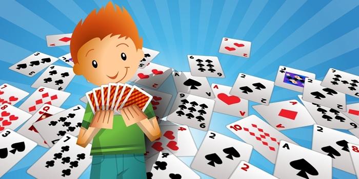 Três jogos matemáticos rápidos com baralho