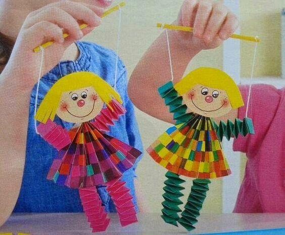 Projeto Circo - Marionete de Palhacinhos