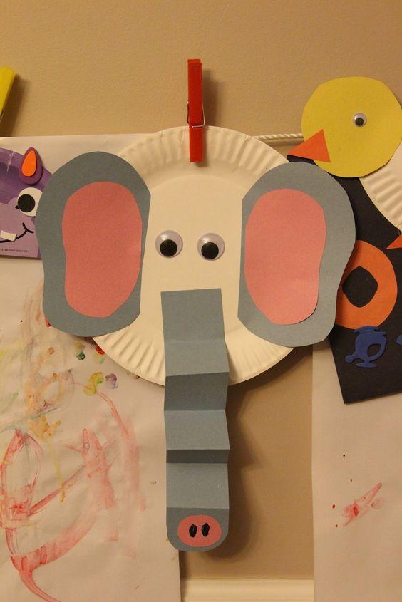 Projeto Circo - Usando a imaginação para transformar pratinhos de papel em animais de circo