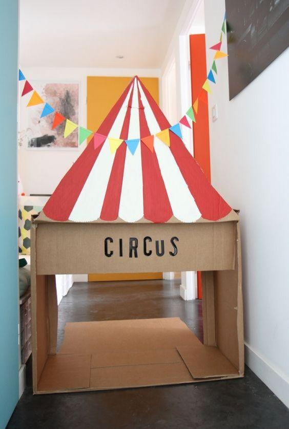 Projeto Circo - Mini circo divertido para fazer na sala de aula