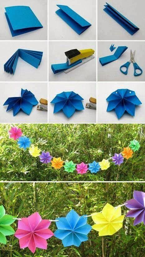 Ideia para fazer uma bela decoração com os alunos