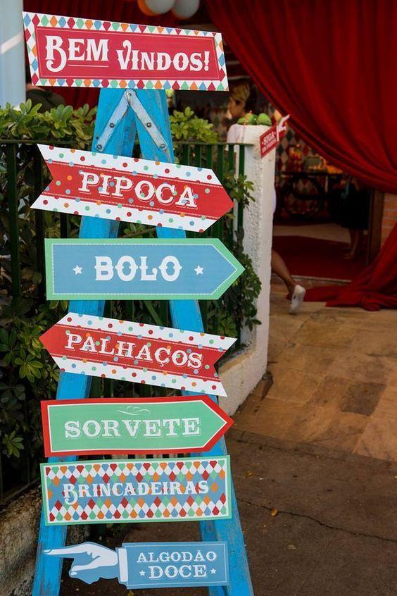 Ideia de decoração para festa junina