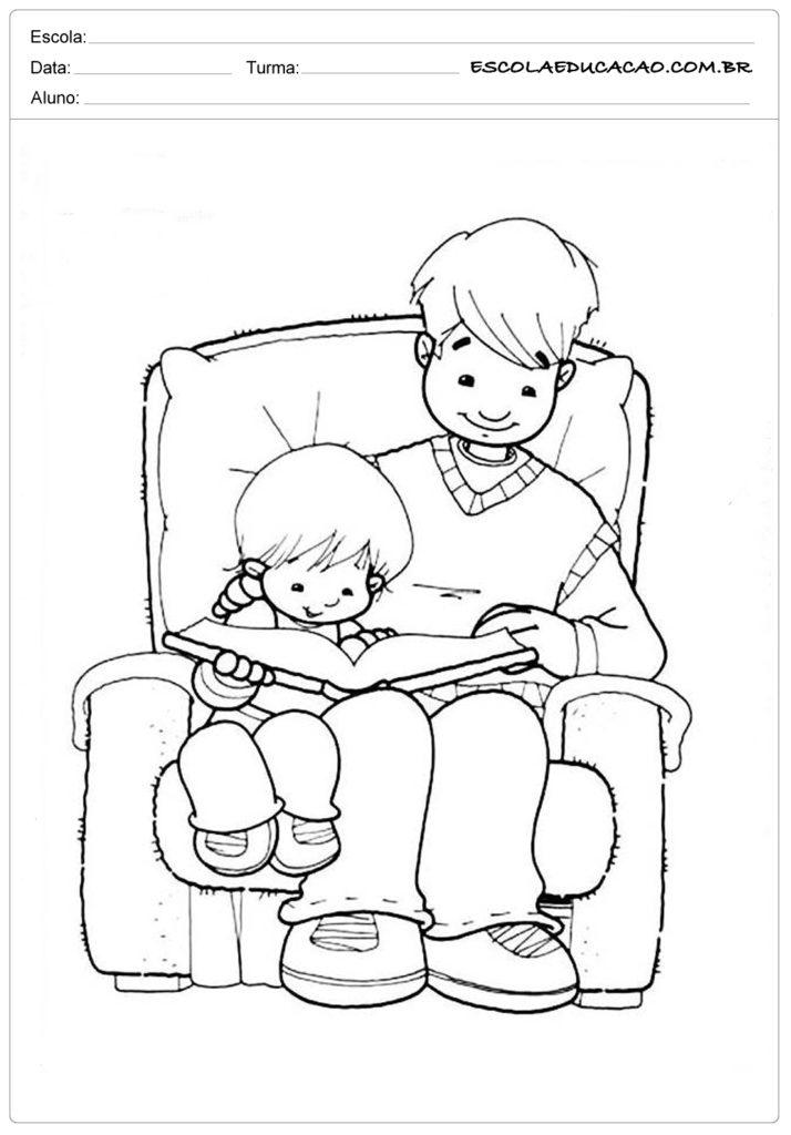 Atividades Dia dos Pais para Maternal - Meu querido papai