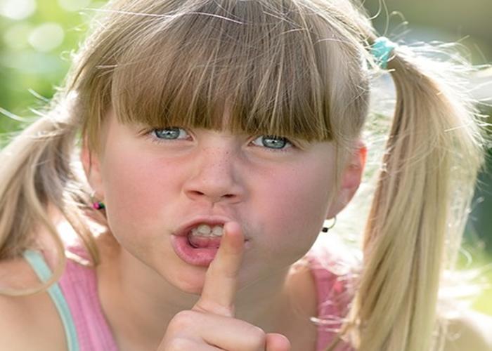 Crianças que falam palavrões