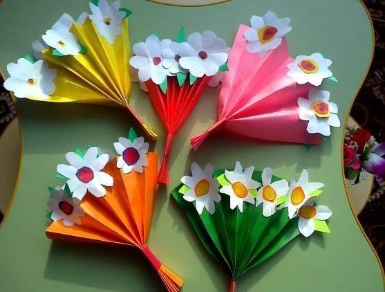 Projeto dia das mães - Buquê de flores