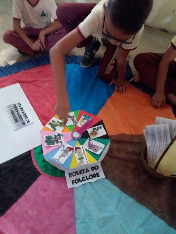 Projeto Folclore - Roleta do folclore