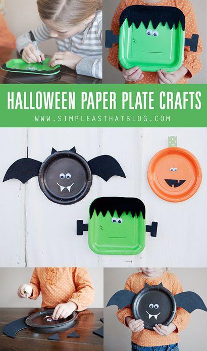 Projeto Halloween - Pratos descartáveis
