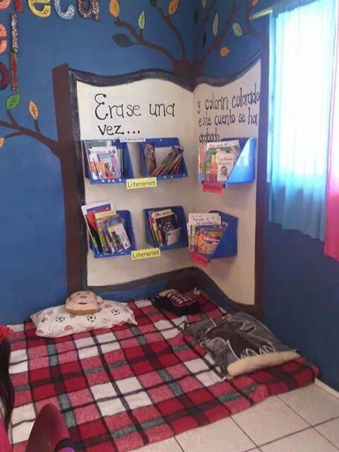 Projeto Leitura e Escrita - Modelo de espaço para leitura em sala de aula