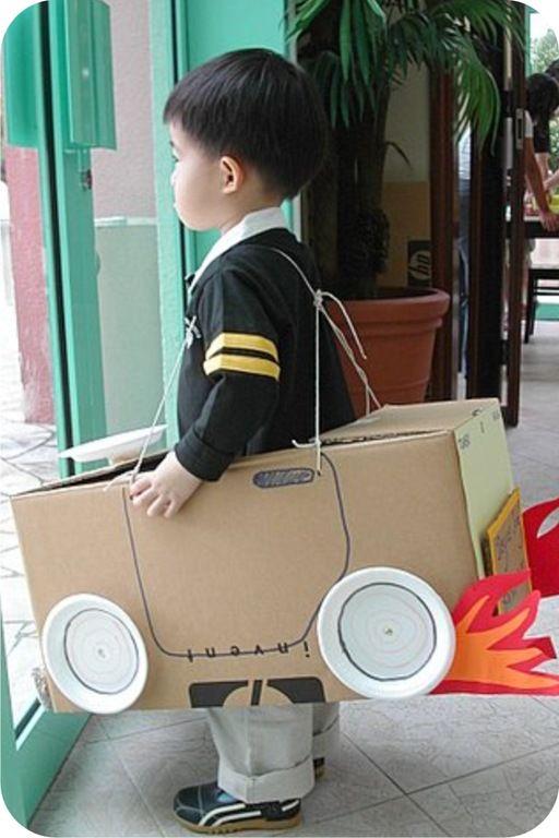 Projeto Meios de Transporte - Carrinho de papelão
