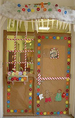 Projeto Natal - Decorando a entrada da sala de aula