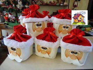Projeto Natal -Lembrancinhas de papai noel