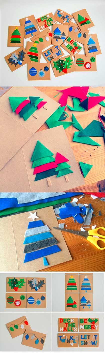 Projeto Natal - Montando uma árvore de natal com os alunos