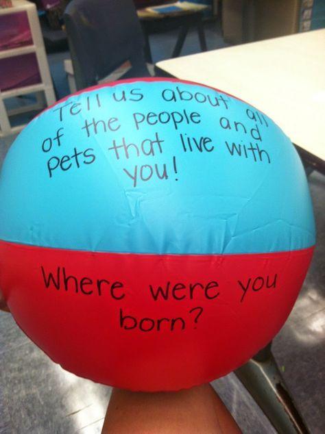 Projeto Volta as Aulas - Bola de perguntas