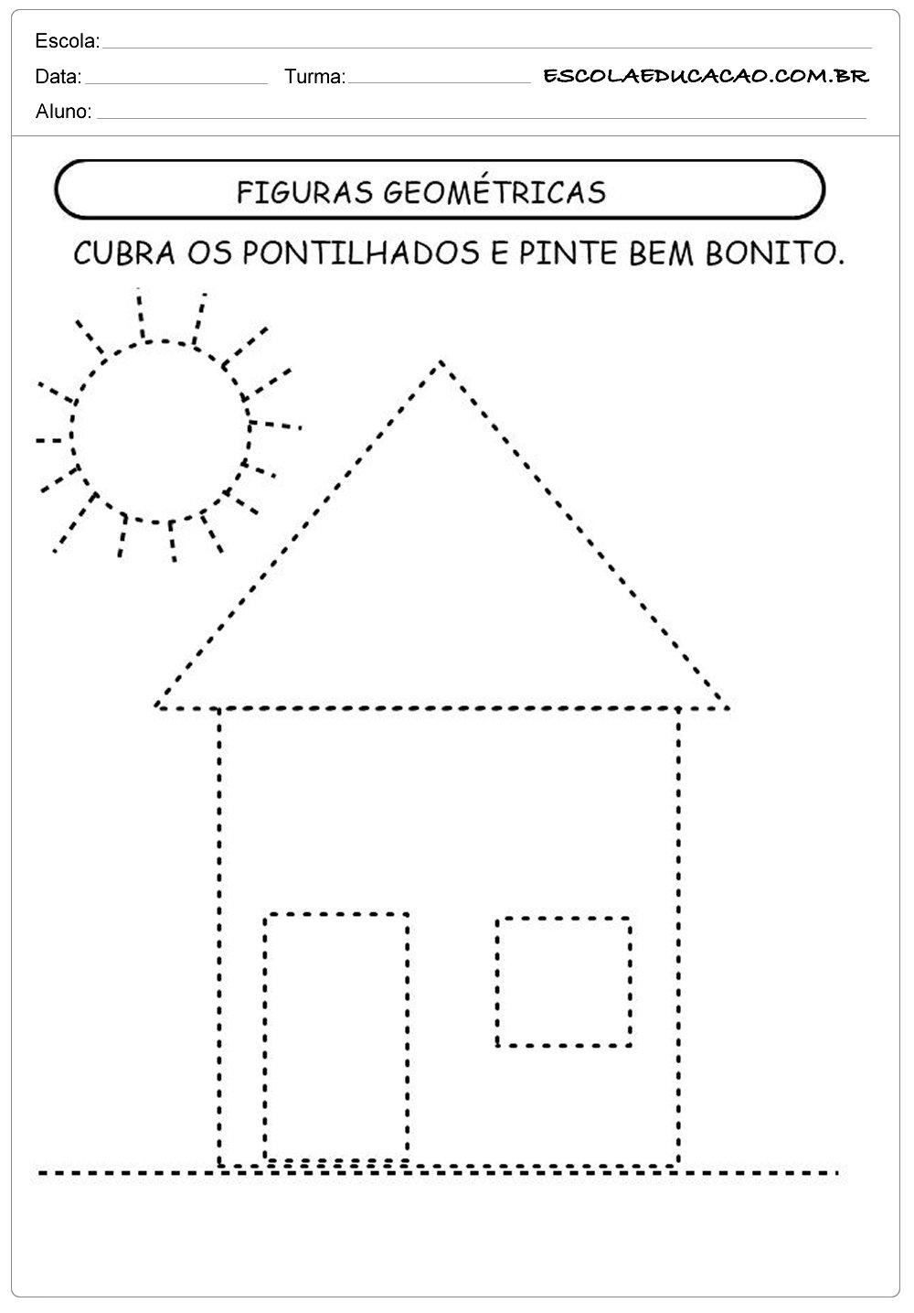 Atividades com formas geométricas figuras geométricas
