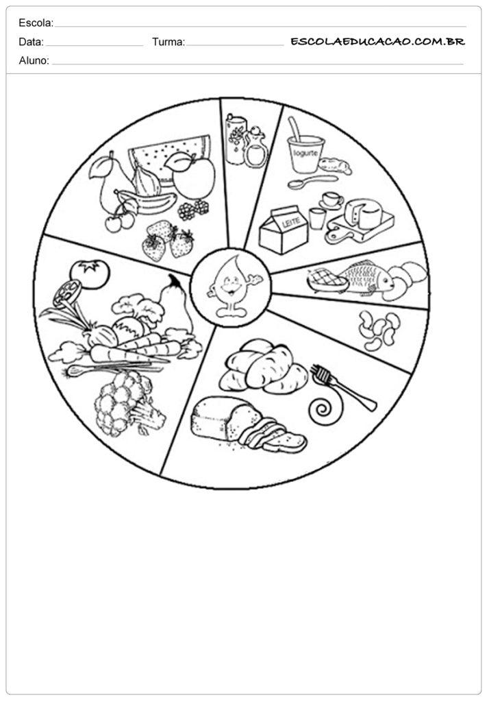 Super Atividades de alimentação saudável 2º ano - Atividades Educativas  EB76