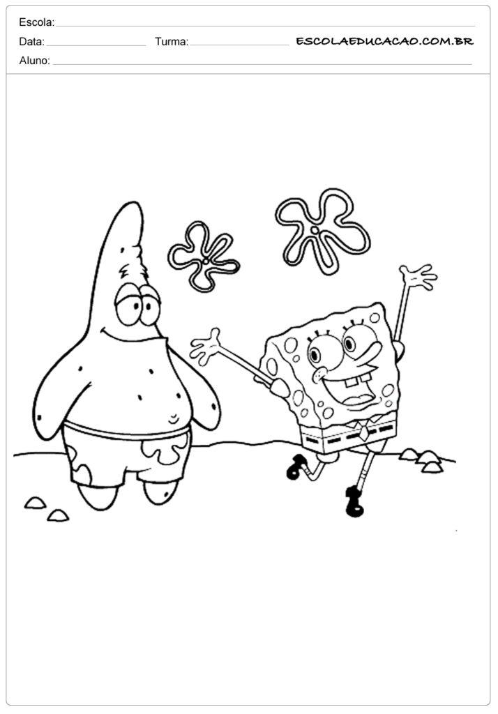 Bob Esponja com Patrick