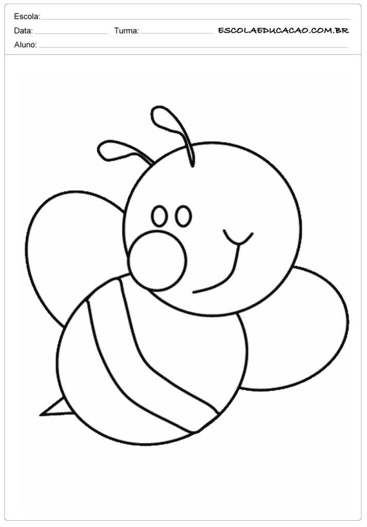 Moldes para primavera de abelha