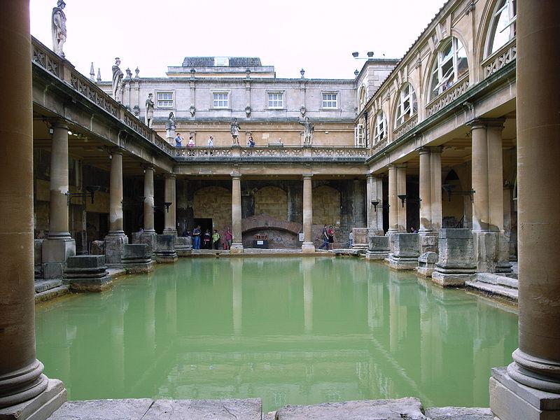 Termas romanas de Bath, no Reino Unido