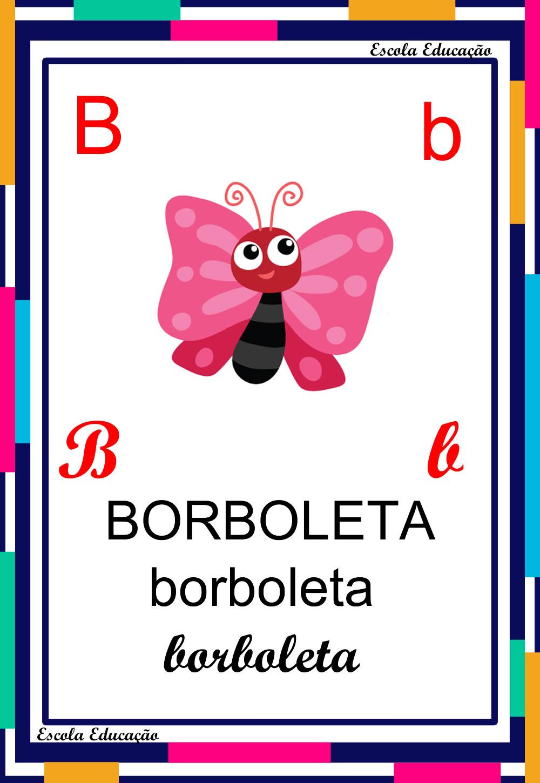 Alfabeto Ilustrado – Letra B