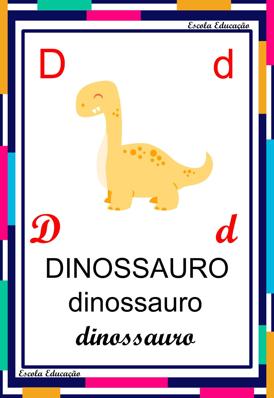 Alfabeto Ilustrado – Letra D
