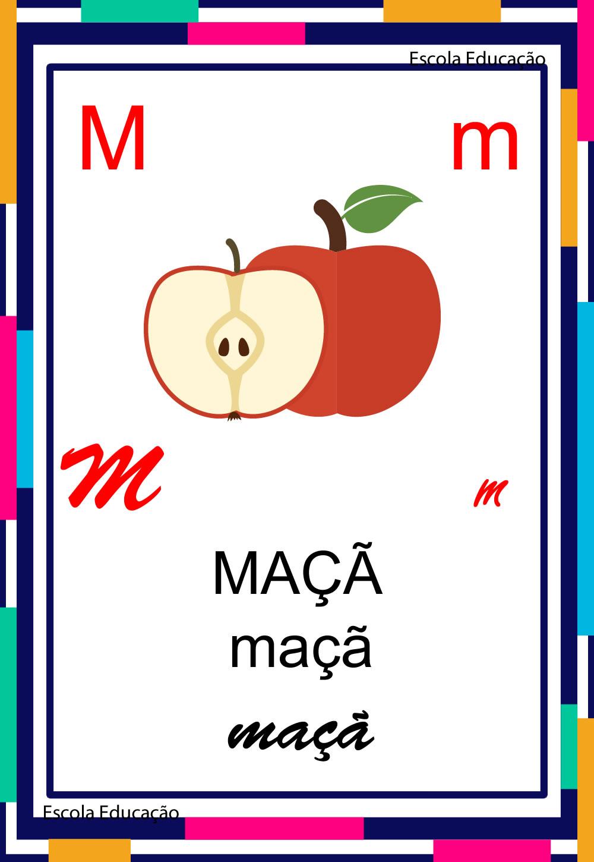 Alfabeto Ilustrado – Letra M