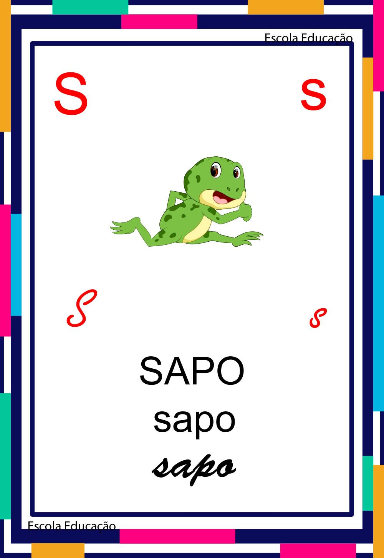 Alfabeto Ilustrado – Letra S