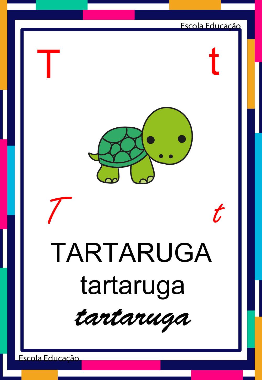 Alfabeto Ilustrado – Letra T