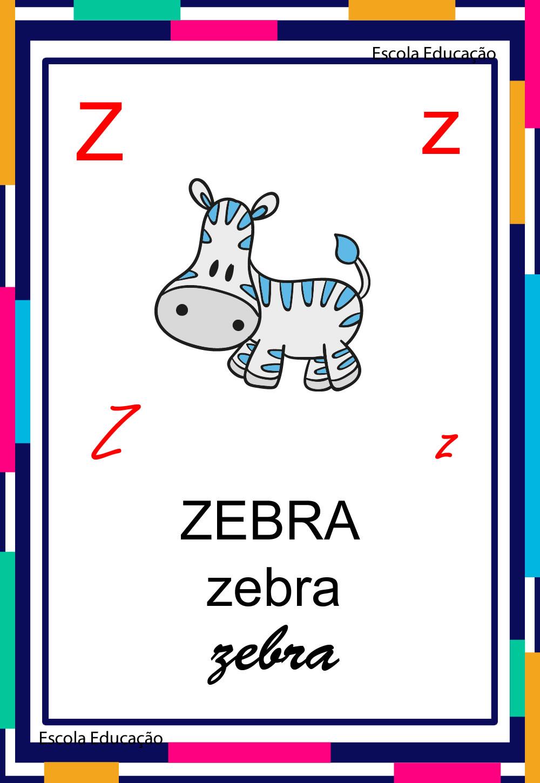 Alfabeto Ilustrado – Letra Z