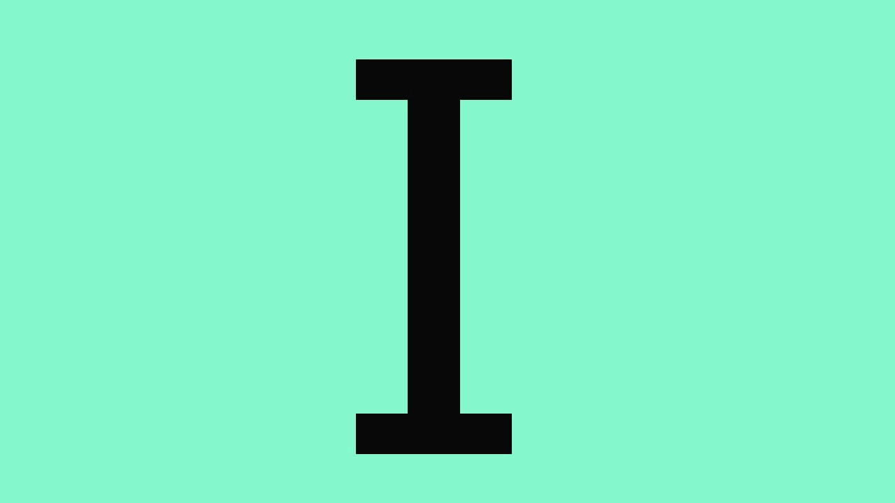 Atividades com a letra I