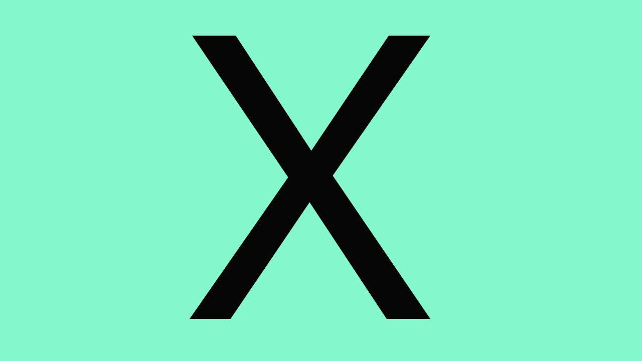 Atividades de alfabetização com a letra X