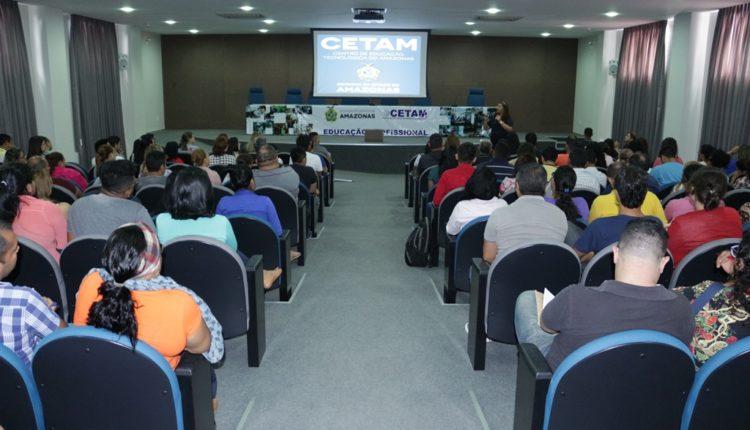 CETAM disponibiliza mais de 13 mil vagas em 22 cursos EaD gratuitos no Amazonas