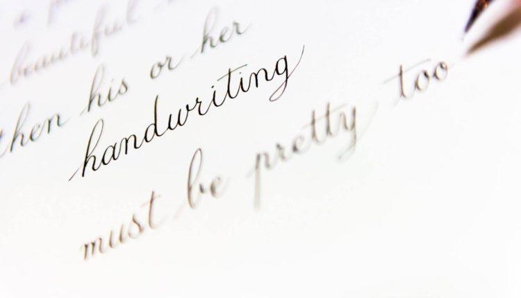 Dicas e truques para melhorar a caligrafia