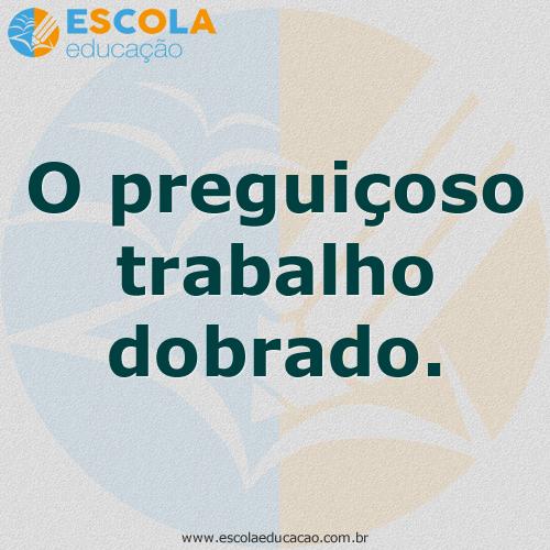 Ditado Popular 50