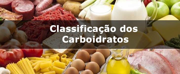Classificação dos Carboidratos