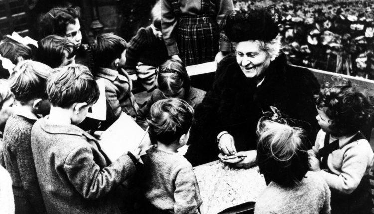 Maria Montessori e a valorização dos alunos